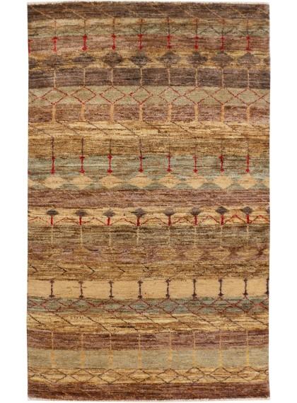 Modern Designer Rugs Gabbeh 3' x 5' 4